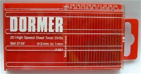 Dormer Tools Ltd Greenwood Tools Ltd