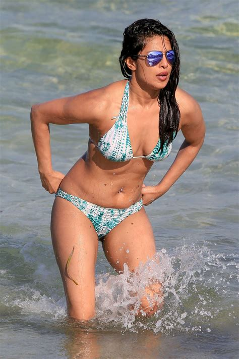 priyanka chopra bikini photos priyanka chopra in bikini on the beach in miami adds
