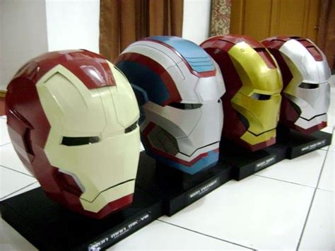 Iron Helmet Papercraft Pdf - iron helmets and projects on