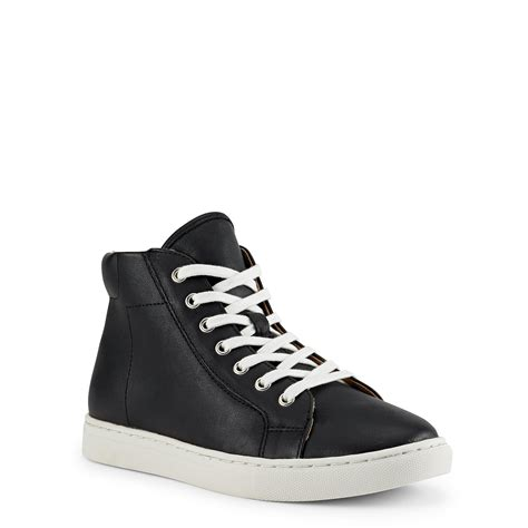 polo high top sneakers polo ralph leather high top sneaker in black lyst