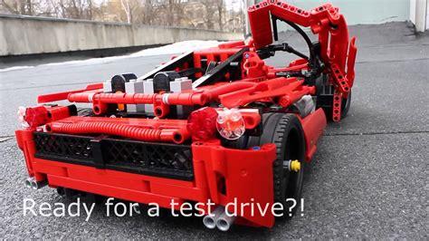 Lego Ferrari Enzo by Lego Ferrari Enzo 2013 Pf Mod Youtube