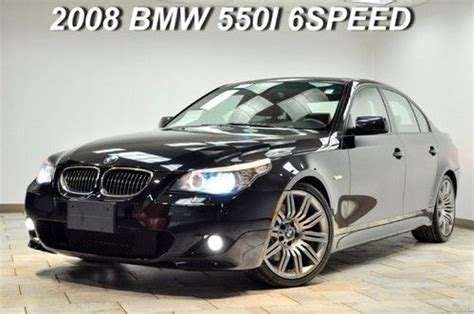 old car manuals online 2008 bmw 5 series electronic valve timing buy used 2008 bmw 550i sport 6speed manual navigation carbon black warranty lqqk in paterson