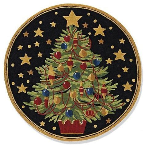 christmas tree rug traditional rugs by frontgate