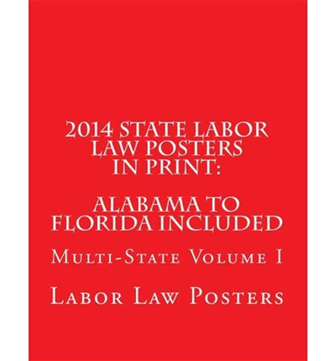 printable federal labor laws poster 2014 state labor law posters in print labor law posters