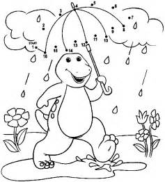 barney coloring pages for toddlers free printable barney coloring pages for