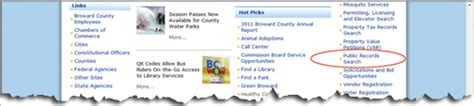 Broward Records Search How To View Recorded Plats