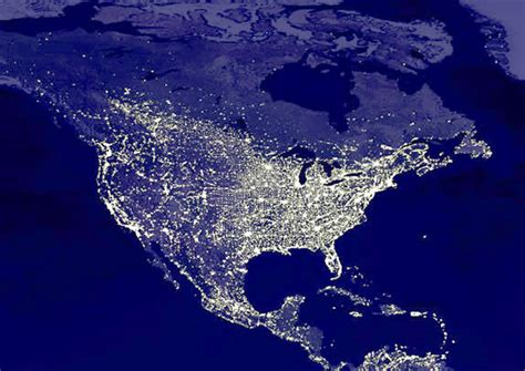 nighttime map of us why plant plants in your garden