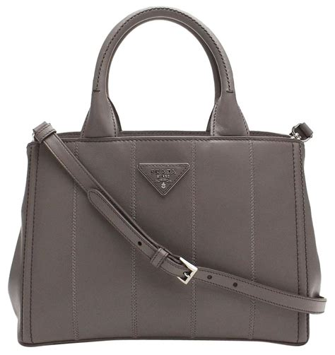 high replica flap shopper tote low price outlet home argillla soft calf shopping gray tote bag replica prada
