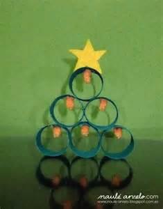 arbol de navidad con rollos de papel higienico reciclar mola 193 rbol de navidad con tubos de cart 243 n