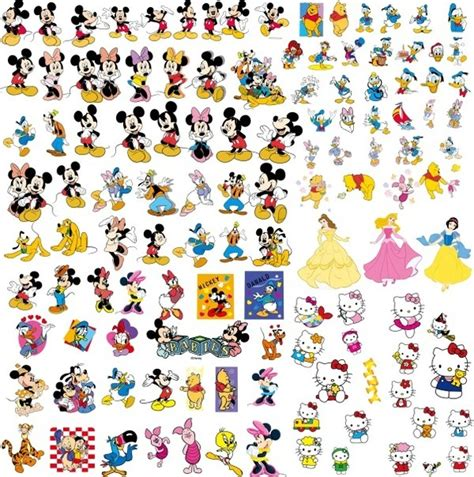 free clipart collection disney clip collection free vector in