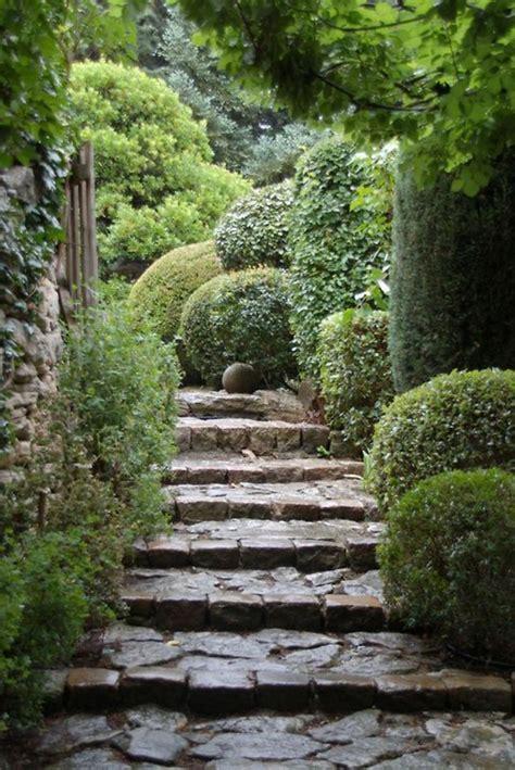 garten gemütlich gestalten treppe gestalten idee