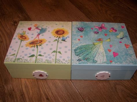 Decoupage A Box - decoupage boxes for ideas for baby