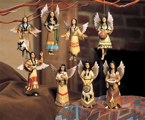 southwest native american indian angel christmas tree