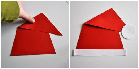 How To Make Santa Hats Out Of Paper - paper plate grinch craft i crafty things