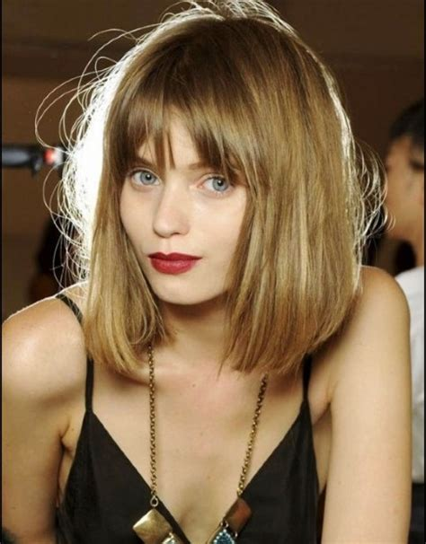 long hairstyles with fringe bangs hollywood official