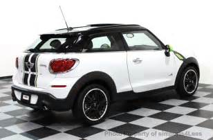 Used Mini Cooper Paceman 2013 Used Mini Cooper Paceman Certified Paceman S All4 Awd