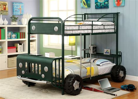 jeep twin bed explorer jeep design dark green twin over twin bunk bed