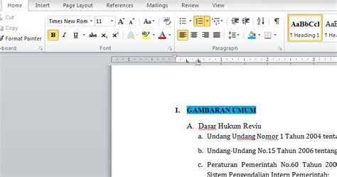 Microsoft Office 2007 Bajakan estehmanishangatnggakpakegula cara bikin daftar isi otomatis di ms word
