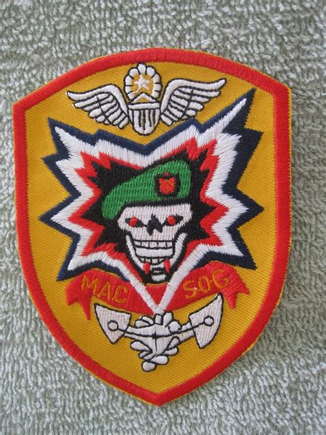 sog patches army special forces macv sog patch quot green beret