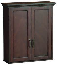bathroom cabinet shelves foremost asgw2327 ashburn wall cabinet in mahogany