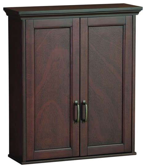 foremost asgw2327 ashburn wall cabinet in mahogany