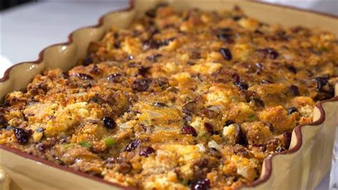 printable recipes from today show al roker s sausage and chestnut cornbread stuffing today com