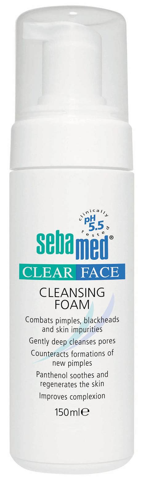 Sebamed Clear sebamed clear clensing foam 150 ml buy sebamed clear