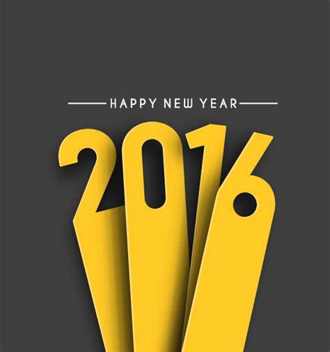new year vector design 2016 new year creative background design vector 47