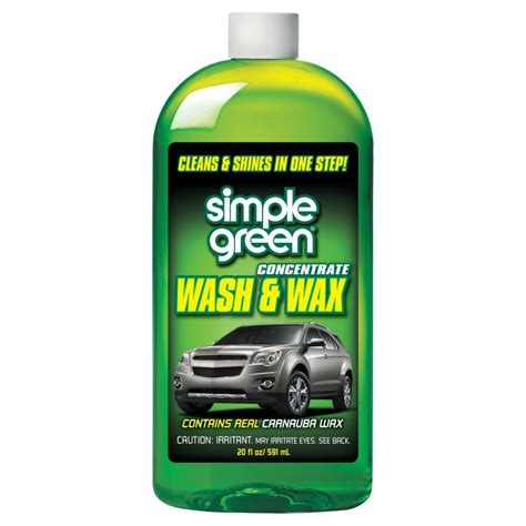 Simple Green Wash Wax 591 M Contains Real Carnauba Wax quakehold 13 oz crystalline clear museum wax 44111 the