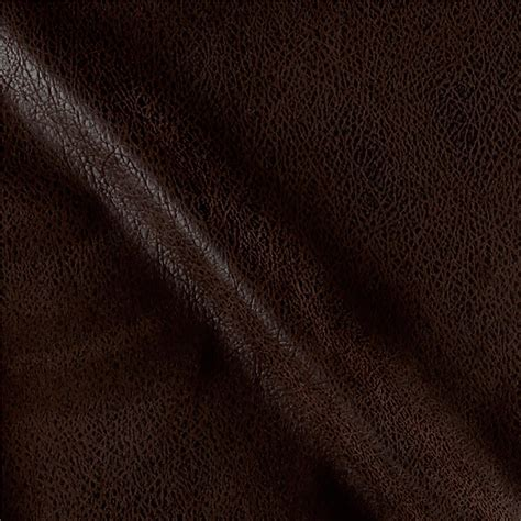 buy leather fabric for upholstery bijoux faux leather textured brown discount designer