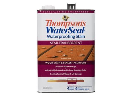 thompsons waterseal waterproofing semi transparent home