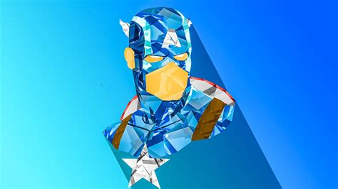 captain america abstract wallpaper captain america digital art hd artist 4k wallpapers