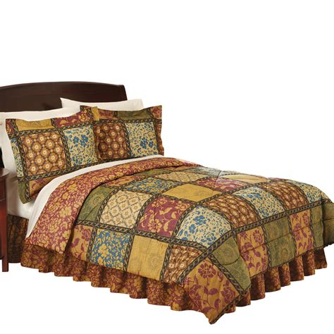 Quilted Comforter Sets by Collections Etc Quilted Vienna Bedroom Comforter Set Ebay