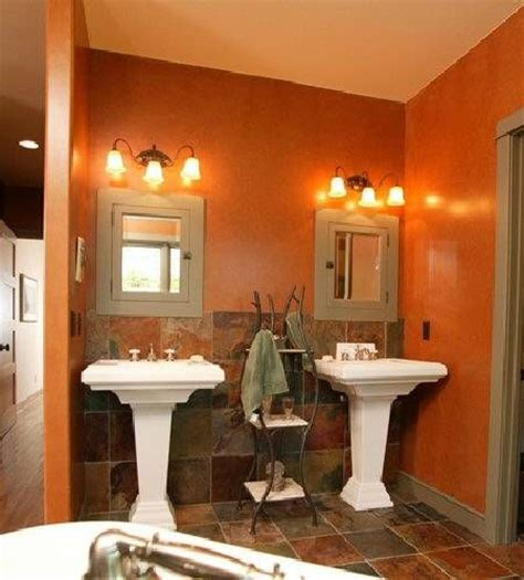 terracotta bathroom love this wall color for the bathroom ideas for the home
