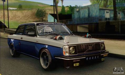 volvo v6 volvo 242 v6 turbo 1983 stock for gta san andreas
