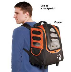 Three in one carrier backpack rolling luggage option