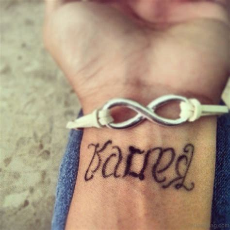 karma tattoo designs wrist 70 wonderful ambigram tattoos for wrist
