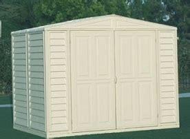 duramax  duramate vinyl shed foundation