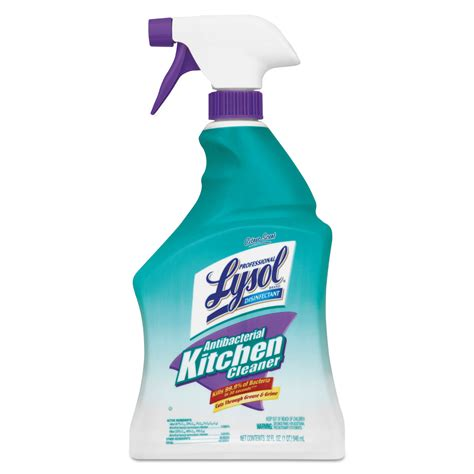 antibacterial kitchen cleaner  professional lysol brand racct ontimesuppliescom