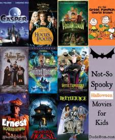 10 not so scary halloween movies for kids who are fraidy cats