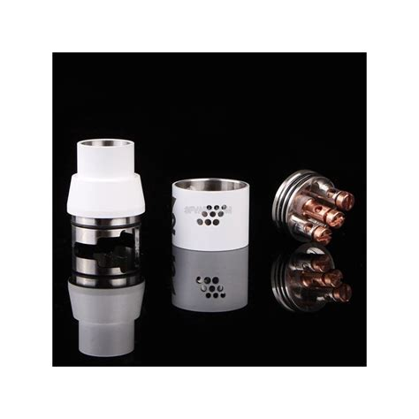 Rda Doge V2 22mm Harga doge x v2 style rda rebuildable atomizer white stainless steel 22mm diameter 3fvape