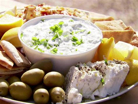Ina Garten Tzatziki | easy tzatziki with feta recipe ina garten food network