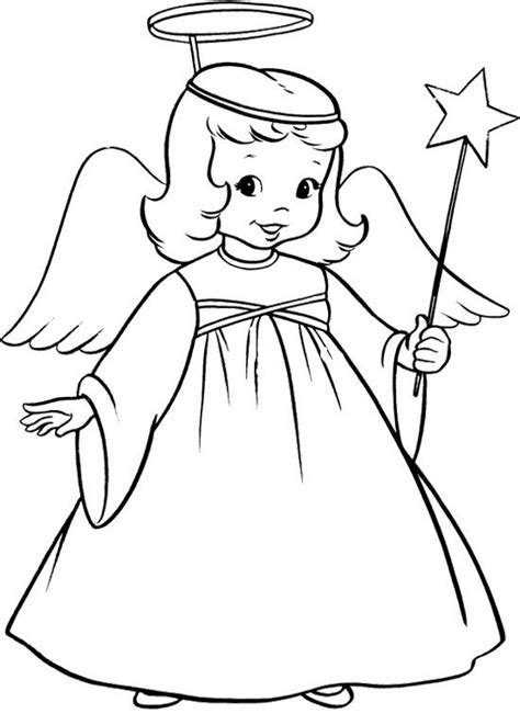 coloring pages for angels the child christmas angel coloring page kolorowanki