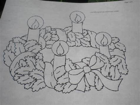 imagenes para colorear corona de adviento familia cat 243 lica coronas de adviento para colorear