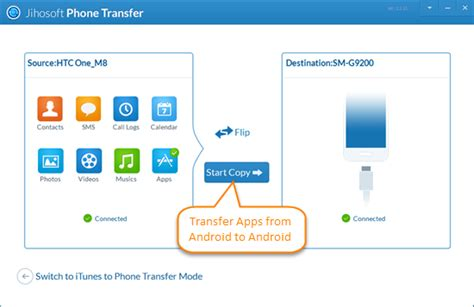 android transfer app how to transfer apps and data from android to android