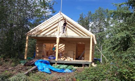 building your own cottage cabin construction building small cabins building your