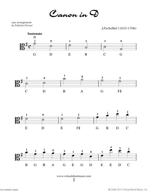 """Valentine Sheet Music for viola solo """"For Beginners"""""""