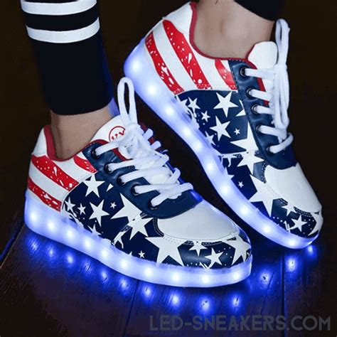 led sneakers classic america the best classic led shoes