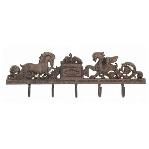 Decorative Key Racks For The Home Buy Rustic Iron Seahorse Key Rack 21 Inch Wholesale Decor For
