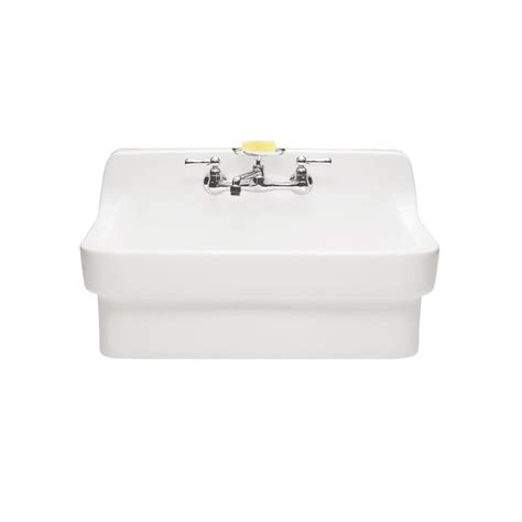 American Standard White Kitchen Sink Faucet 9062 008 020 In White By American Standard